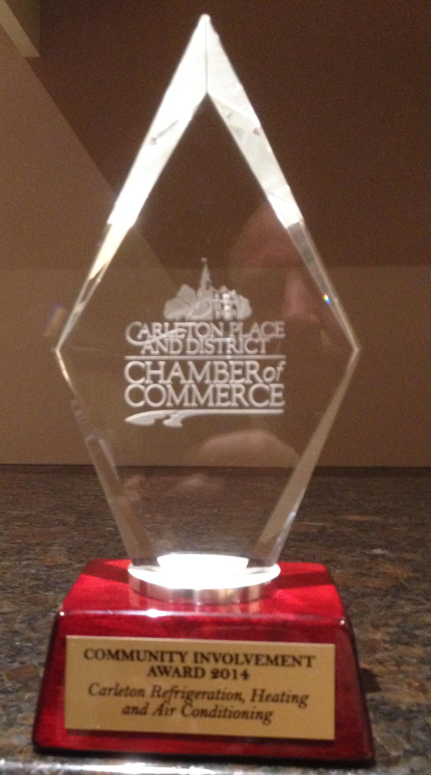 Community Involvement Award 2014