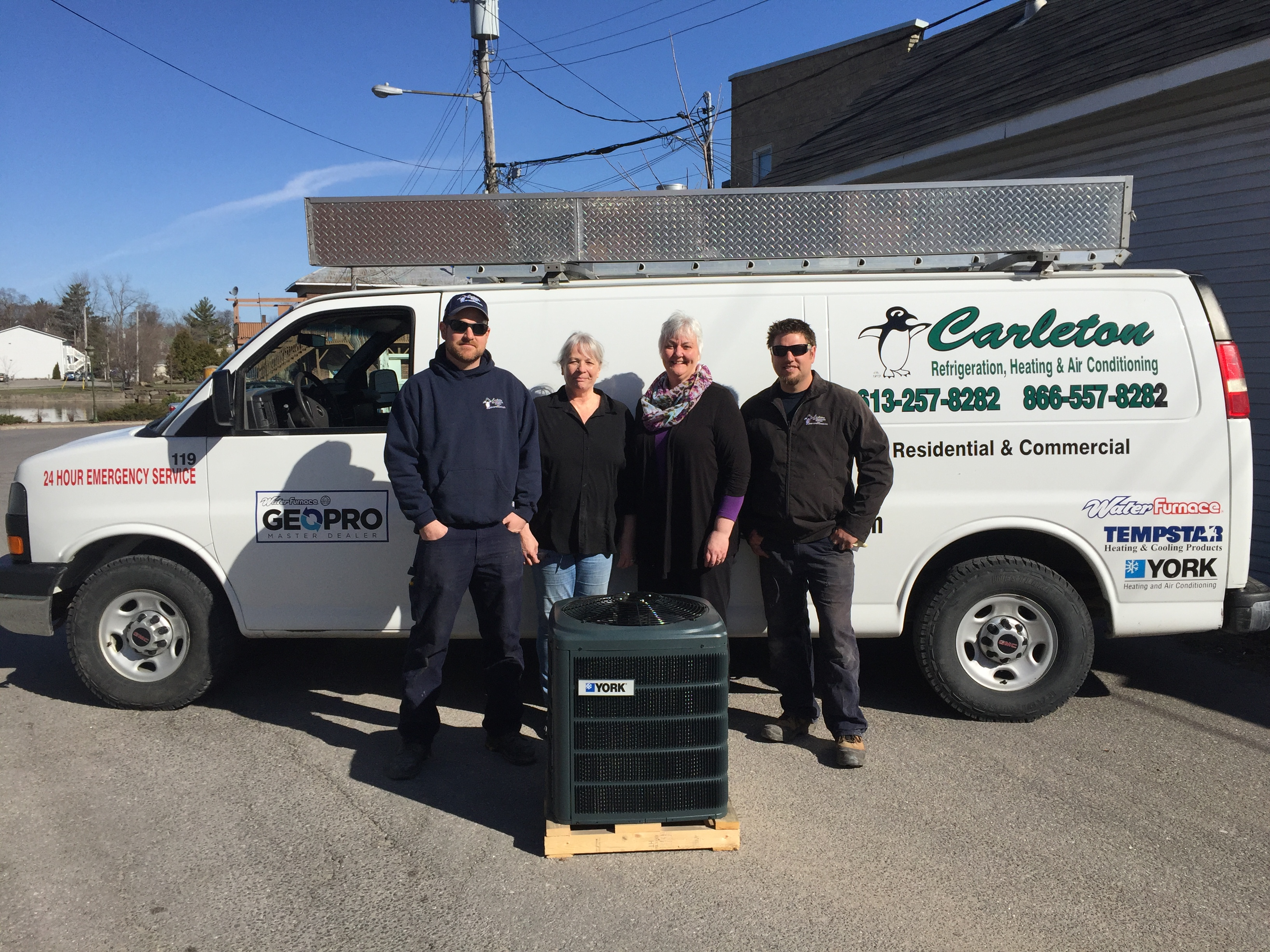 Air Conditioner Donated To The Lanark County Food Bank