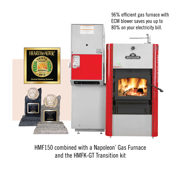 Furnace That Heats With Wood This Combination Goes Beyond Superior Performance By Integrating The Environmentally Friendly Features Of Hmf150